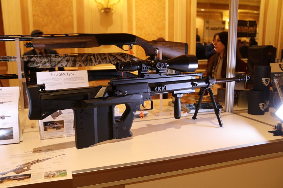 Tactical Imports from Canada bullpup 50 caliber sniper rifle GM6 Lynx at Show Show 2018 925 001