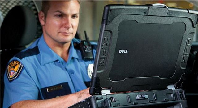 At Milipol 2011, the Worldwide Exhibition of Internal State Security, the famous computer manufacturer Dell presents its new rugged notebook E6420 XFR especially designed for the use in the worst conditions faced by military or security forces.