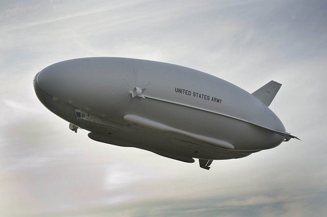 For more than 90 minutes, Aug. 7, the hybrid air vehicle known as the Long Endurance Multi-Intelligence Vehicle stayed afloat above Joint Base McGuire-Dix-Lakehurst, N.J. The Long Endurance Multi-Intelligence Vehicle, or LEMV, like a blimp, is capable of carrying multiple intelligence, surveillance and reconnaissance payloads for more than 21 days at altitudes greater than 22,000 feet.