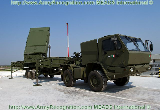 The MFCR is an X-band, solid-state, active electronically scanned array radar which provides precision tracking and wideband discrimination and classification capabilities. For extremely rapid deployments, the MEADS MFCR can provide both surveillance and fire control capabilities until a surveillance radar joins the network. An advanced identify friend-or-foe subsystem supports improved passive threat identification and typing.