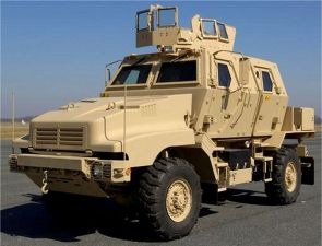 Caiman 4x4 BAE Systems Armor Holdings MRAP FMTV Mine Resistant multi-role protected wheeled armoured vehicle data sheet description identification pictures United States US army