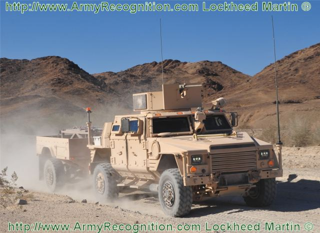 Lockheed Martin [NYSE:LMT] received a $65 million contract from the U.S. Army and U.S. Marine Corps to continue developing the Joint Light Tactical Vehicle (JLTV) through the Engineering and Manufacturing Development (EMD) phase.