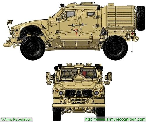 L ATV 4x4 Light All Terrain armoured Vehicle Oshkosh Defense line drawing blueprint 001