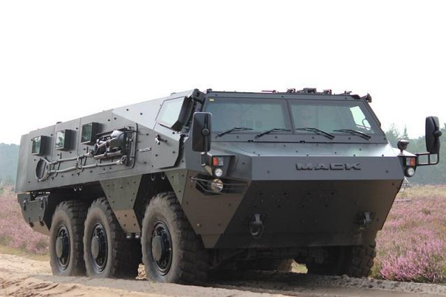 Lakota 6x6 Armoured Vehicle Personnel Carrier Technical