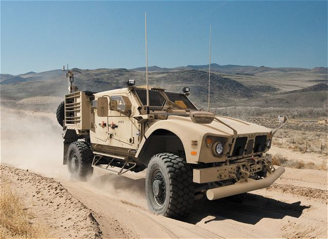 Oshkosh Defense, a division of Oshkosh Corporation (NYSE:OSK), will deliver more than 40 additional MRAP All-Terrain Vehicle (M-ATV) variants for the U.S. Special Operations Command (SOCOM) as well as more than 130 spare-parts kits for the vehicle following orders from the U.S. Army TACOM Life Cycle Management Command (LCMC) awarded in November and December 2010.