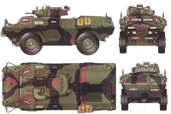 M1117 ASV Guardian Security armoured vehicle personnel ...