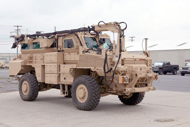 RG31 route clearance armoured vehicle mine protected United States US army 640 001