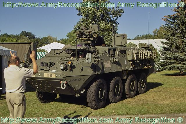 Stryker ICV M1126 Wheeled Armoured Vehicle infantry personnel carrier US Army United States 640 004