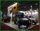 Brazilian Defence Company Agrale launches at LAAD 2013 (Latin America Aerospace & Defence) the vehicle Marruá 41 AM - VTNE 2 ½ ton 4X4. At the event, in the halls of Rio Centro in Rio de Janeiro, the company will present five models of its family of vehicles designed specifically for military application, in versions of reconnaissance, transport and Security Forces.