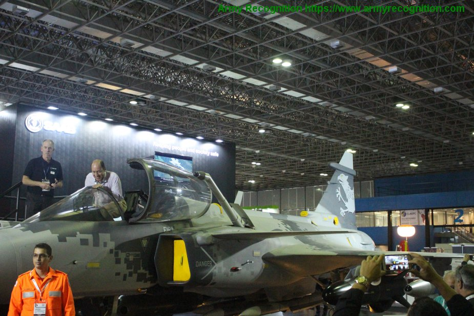 LAAD 2019 Saab revealed details of JAS 39NG Gripen development