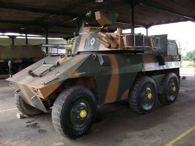 The Brazilian Army has delivered refurbished Cascavel armored vehicles to neighboring Suriname under a 2012 bilateral agreement. The Cascavel, originally manufactured by a now defunct Brazilian company, is a 6X6 armored vehicle.