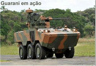 Guarani wheeled armoured vehicle technical data sheet description information intelligence pictures photos images identification Brazilian army brazil Iveco Defence Vehicles APC armoured personnel carrier