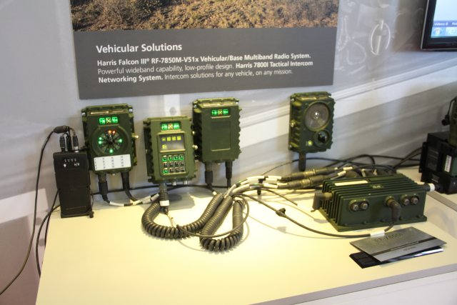 Harris is showcasing its multimission radio systems at Expodefensa 2015 640 001