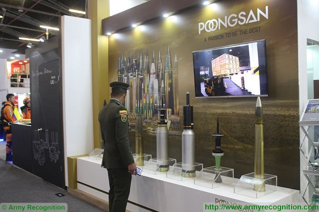 Poongsan of South Korea produces a wide range of military-purpose ammunition — from 5.56mm ammunition to eight-inch projectiles for howitzers — the Company has earned a reputation the world over for quality, with most of the sporting and other commercial ammunition produced by Poongsan being exported abroad.