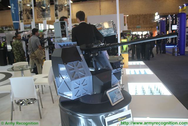 Thor Hammer turret ExpoDefensa 2015 International Exhibition of Defense and Security in Colombia 640 002