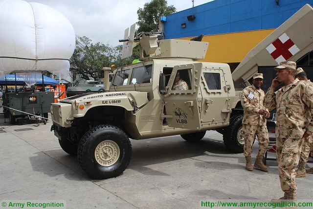 Textron and the Colombian Ministry of defense presents a new joint project of upgrade for Humvee under the name of VLB Buffalo (Vehiculo Ligero Blindado - Light Armoured Vehicle). One of the main feature is the use of an armour kit to increase protection against ballistic and mine threats.
