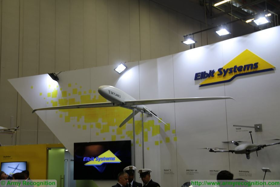 Elbit Systems from Israel presents its full range of UAVs at ExpoDefensa 2017 defense exhibition Colombia 925 002