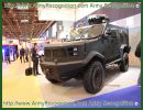 Hunter TR-12 multi-purpose tactical armoured vehicle technical data sheet specifications description information pictures photos images identification Colombia Colombian defence industry military technology armor international personnel carrier