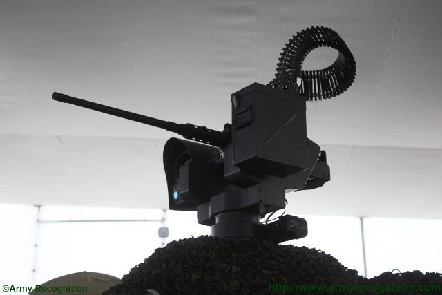 Peru unveils upgraded variant of the BMR 600 APC fitted with Guardian remote weapon statio 640 002