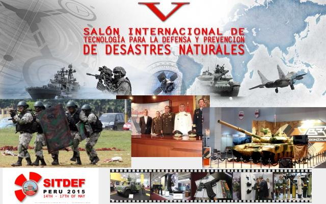 SITDEF 2015 pictures Web TV Television video photos images International Defense Technology Exhibition Prevention of Natural Disasters Lima Peru