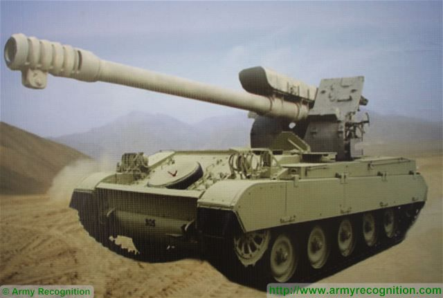 Low cost solution of 122mm self-propelled howitzer using AMX
