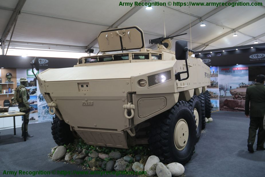 FNSS PARS III 8x8 armored vehicle first appearance in South America Lima Peru SITDEF 2019 925 001