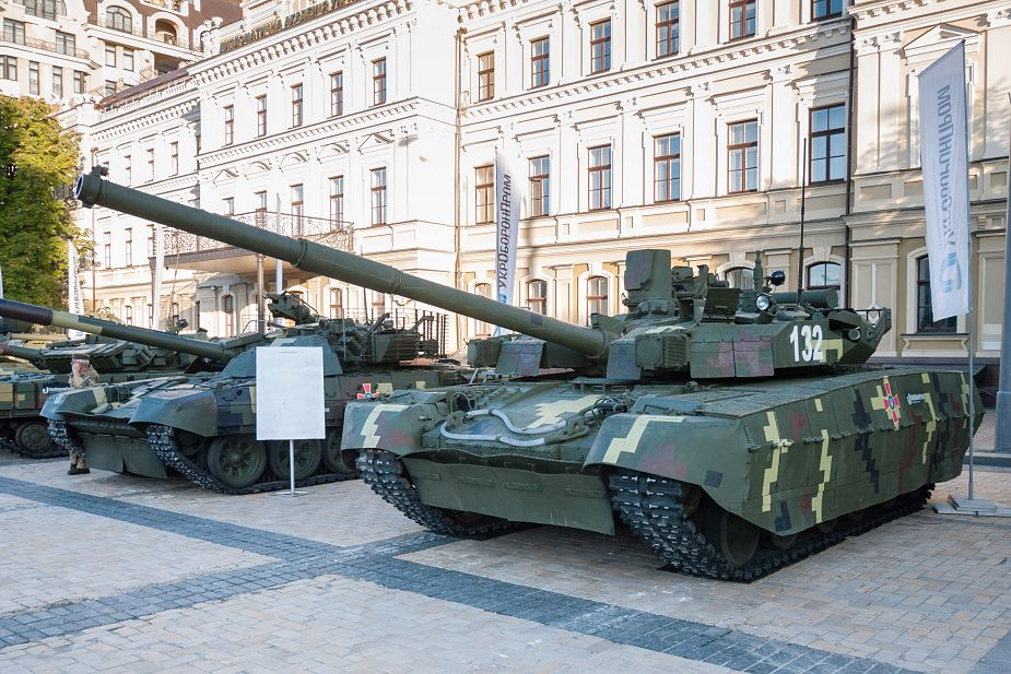 Malyshev Plant from Ukraine offers Oplot BM tank to replace T 55 of Peruvian army SITDEF 2019 925 001