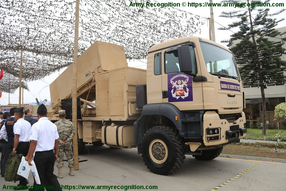 New local made mobile anti ship missile system developed in Peru Lima SITDEF 2019 925 001