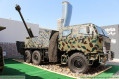 Khalifa-1 GHY02 122mm D-30 6x6 wheeled self-propelled howitzer Sudan Sudanese MIC defence industry military technology 640 003