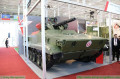 Vikhr UGV Unmanned Ground Vehicle robotic military system on BMP 3 chassis Russia Russian defense industry 640 001