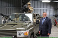 Belgian Defense Minister Steven Vandeput unveils new FOX vehicle for Special Operations Forces 640 001