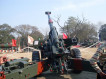 Indian army received three indigneously developped Danush 155mm artillery guns 640 001