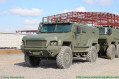 Russian Defense Industry promotes Typhoon K armoured vehicles in 4x4 and 6x6 configuration Kamaz 53949 640 001