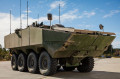 US Company SAIC unveils first prototype of Amphibious Combat Vehicle 1 1 for US Marine Corps 640 001