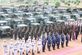 More than 200 military vehicles were given to Cambodia from South Korea 640 001